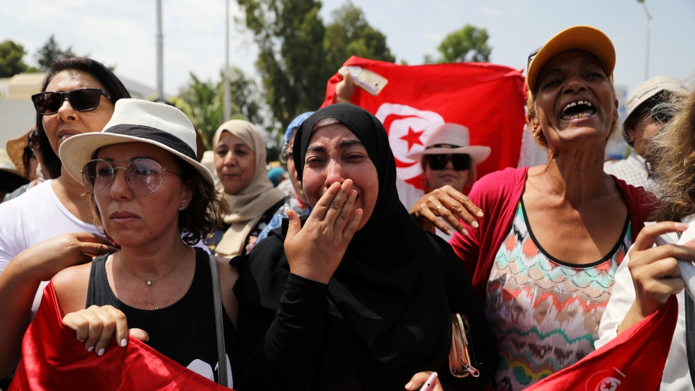 Tunisians bid farewell to late President Beji Caid Essebsi