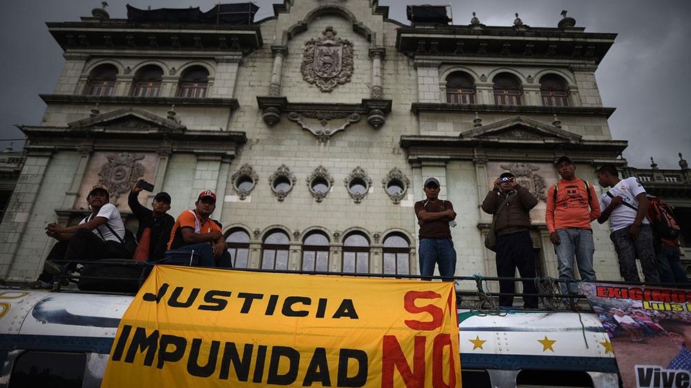 Guatemala land defenders