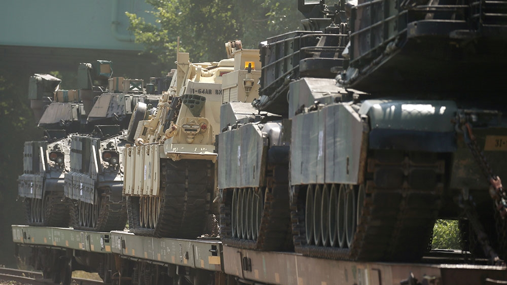 Trump tanks