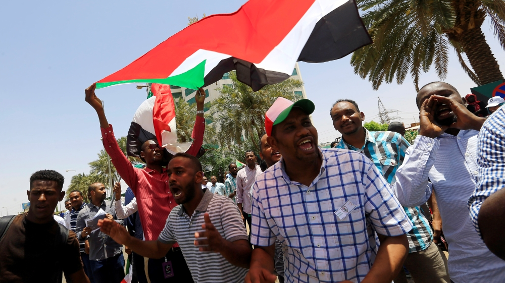 Sudan protesters begin direct talks with military council thumbnail