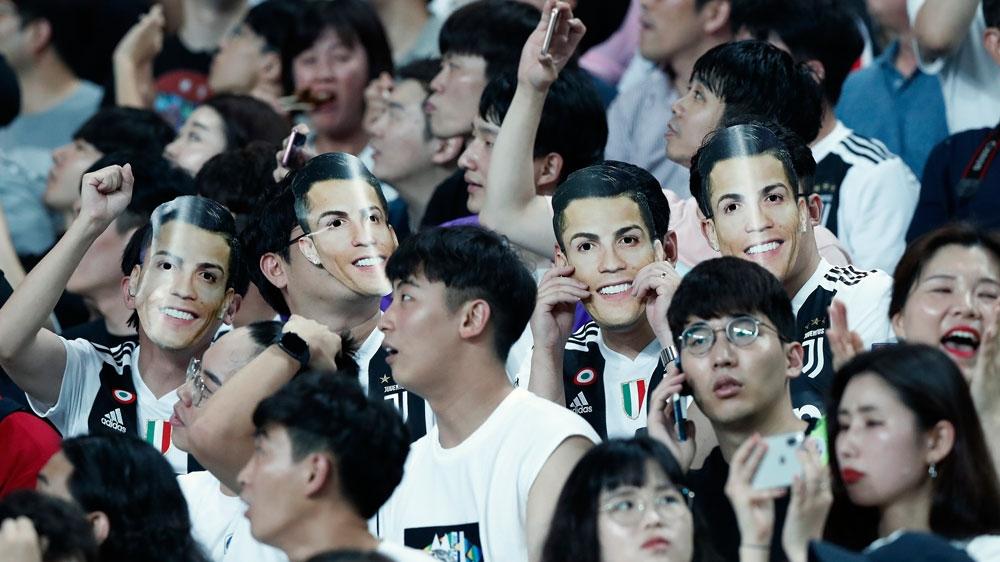 """Image result for ronaldo vs south korea"""""""
