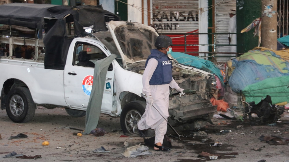 Several killed in blast outside police station in Quetta