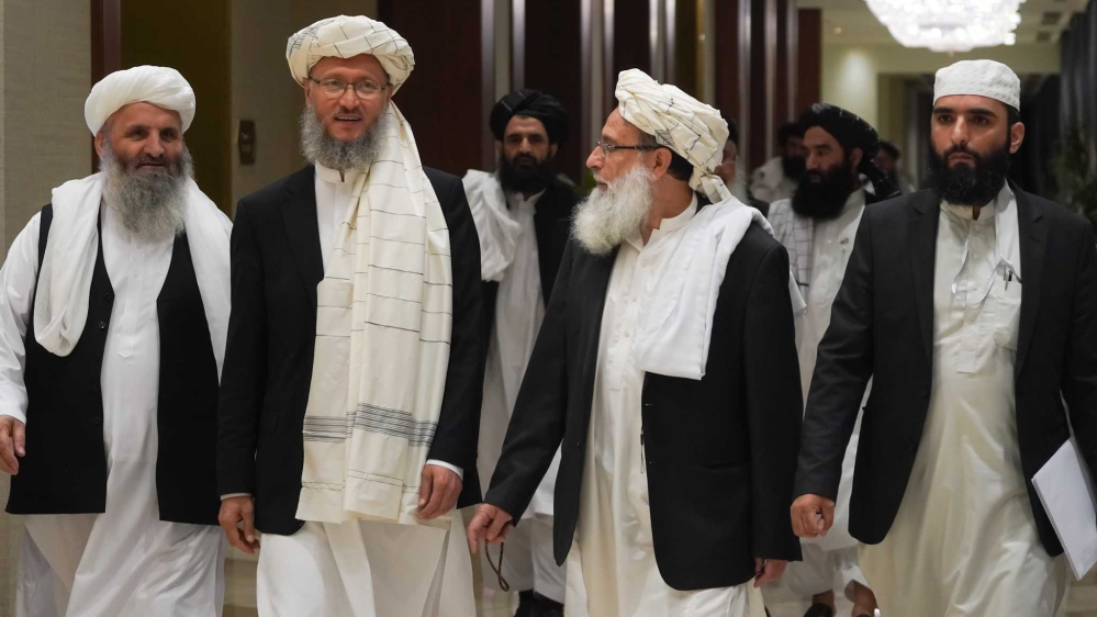 Participants at the inter-Afghan talks[Sorin Furcoi/Al Jazeera]