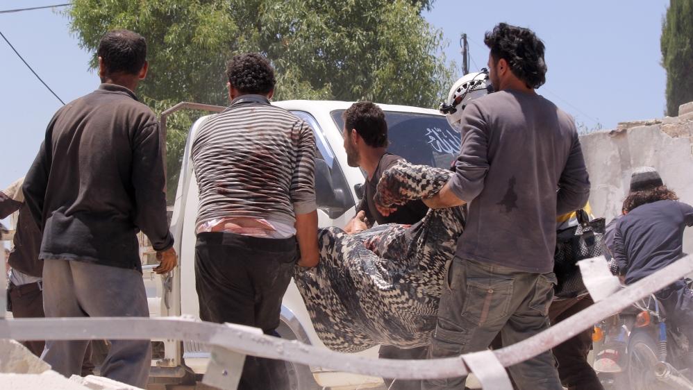 Russia-Syria assault on Idlib leaves over 500 civilians dead