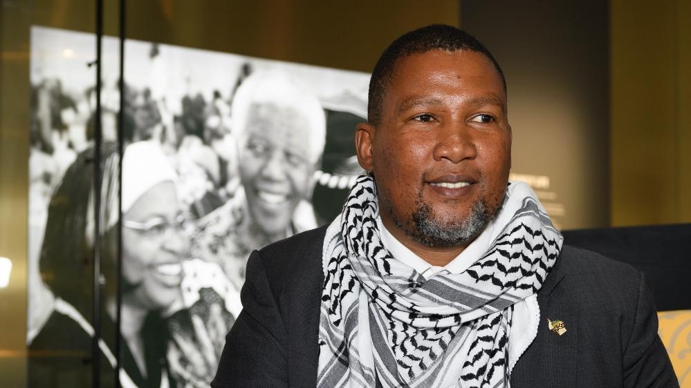 Nelson Mandela's grandson slams 'Israeli apartheid'