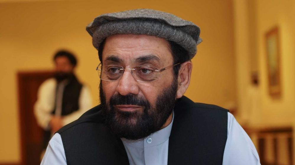 Ghairat Baheer, member of Hezb-e-islami [Sorin Furcoi/Al Jazeera]