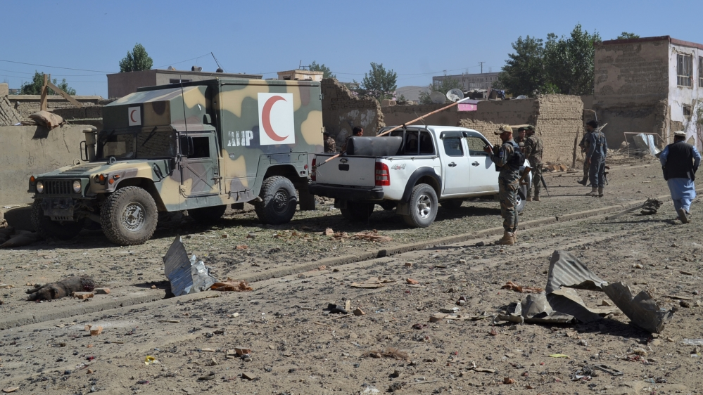 Afghanistan: Several killed in Taliban car bomb attack in Ghazni