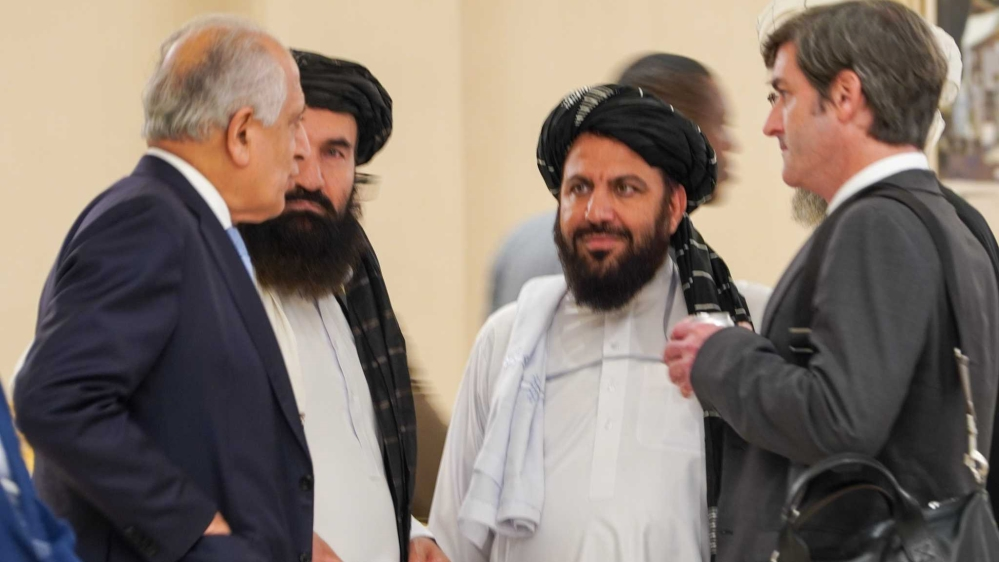 Image result for taliban talks