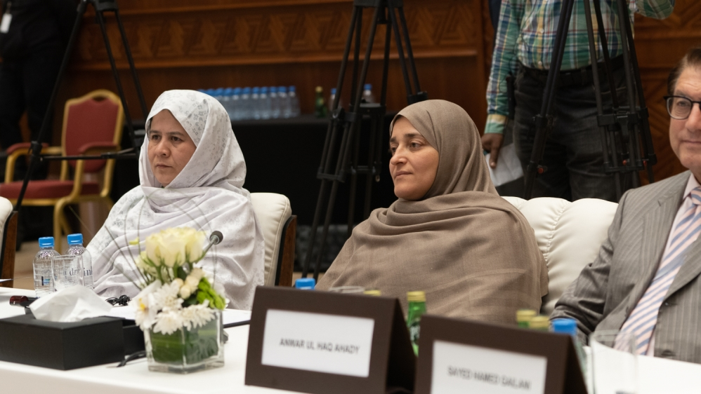 Afghani said many young female Afghans were pinning their hopes on her and other women delegates [Sorin Furcoi/Al Jazeera]