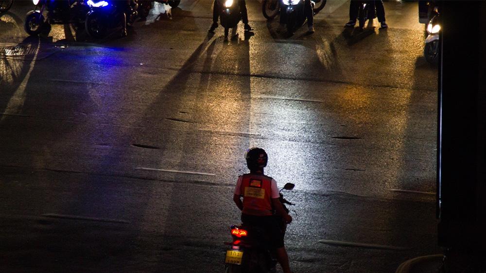 Thailand moto-taxis