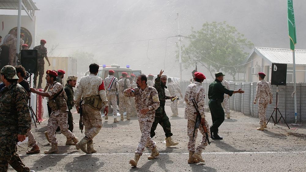 Yemen: Dozens killed in Houthi attack on Aden military