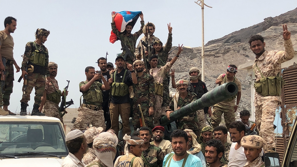 Saudi-led coalition calls for immediate Aden ceasefire: Reports ...