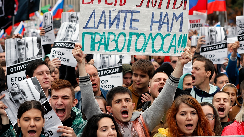 Why Russians dare to protest and risk wrath of authorities