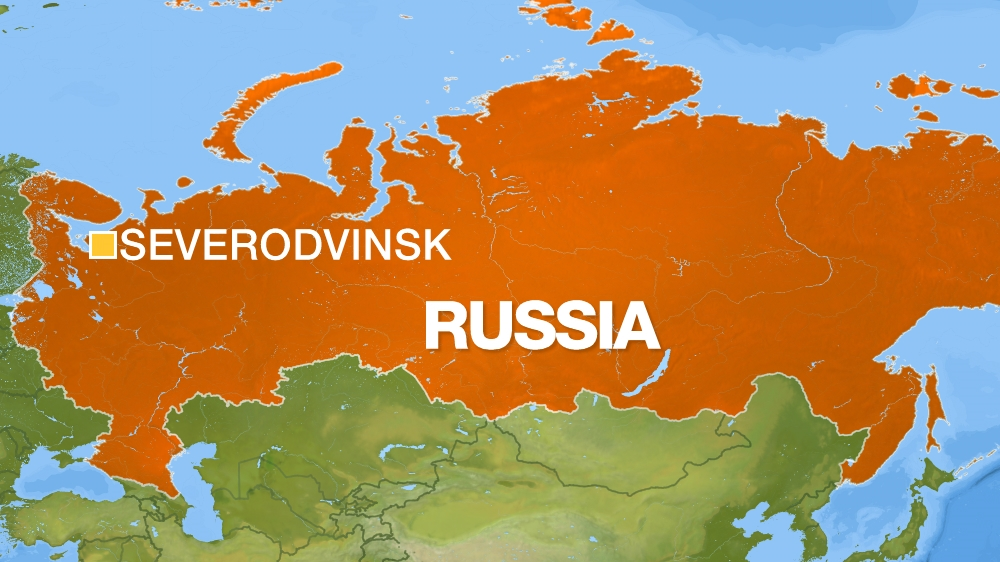 Severodvinsk map