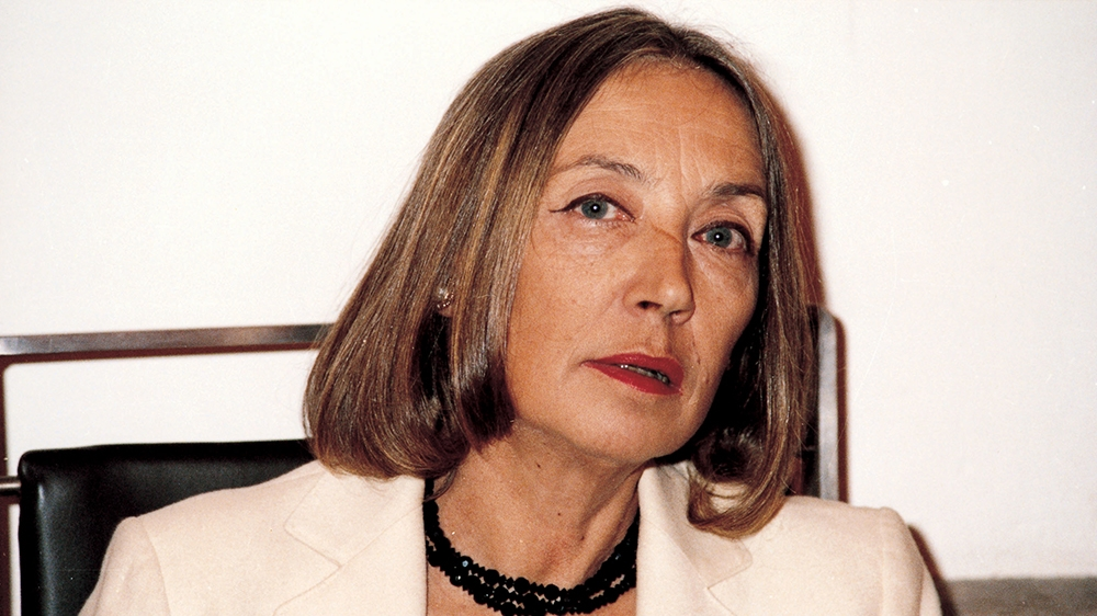 The resurgence of Oriana Fallaci's anti-Islam message in Italy