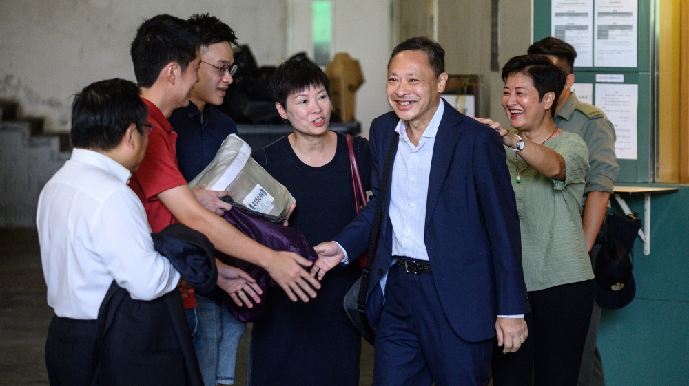 Hong Kong pro-democracy leader Benny Tai released on bail