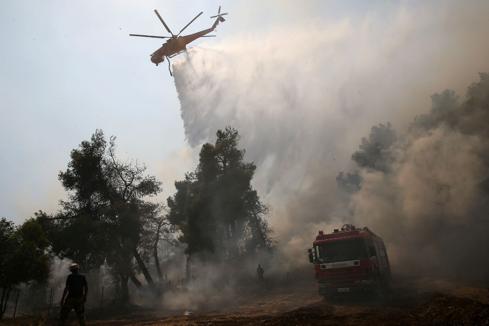 Greek fires - reuters
