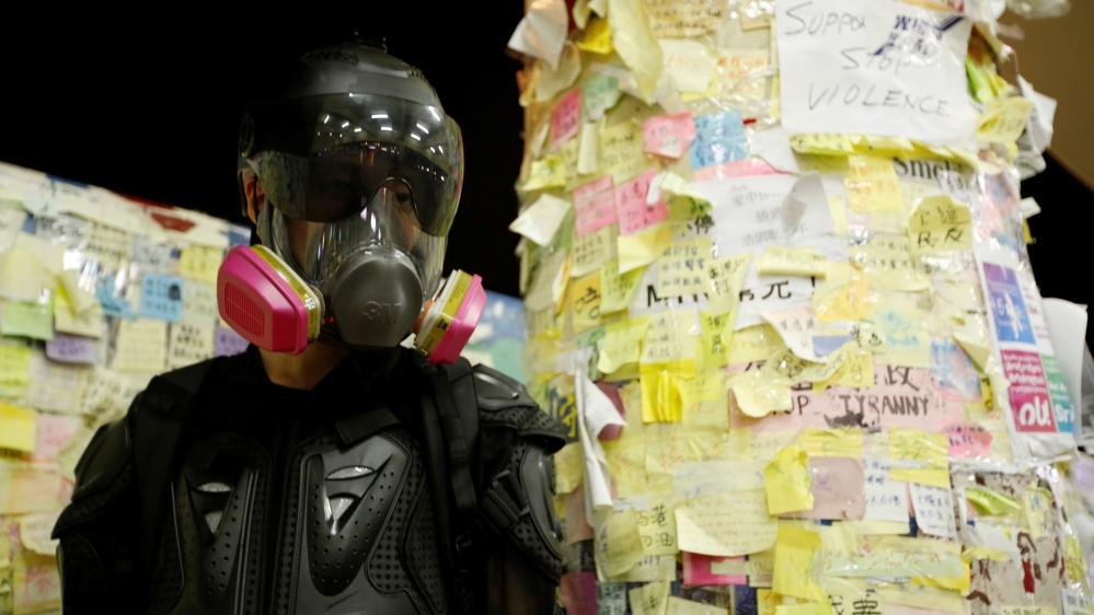 All eyes on Hong Kong protesters as China ramps up rhetoric thumbnail