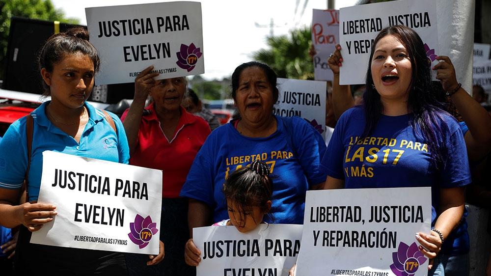 Joy as El Salvador court absolves woman accused of killing stillborn child