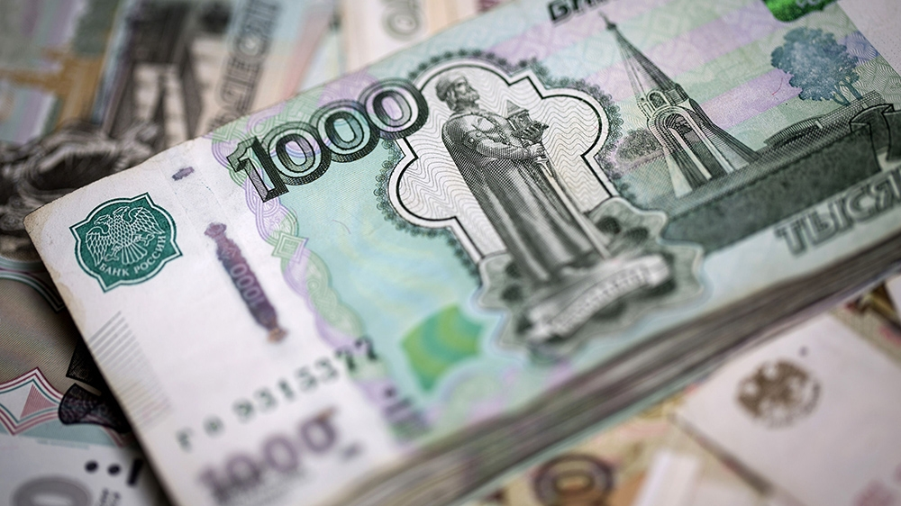 Russian Ruble Takes A Hit From Us