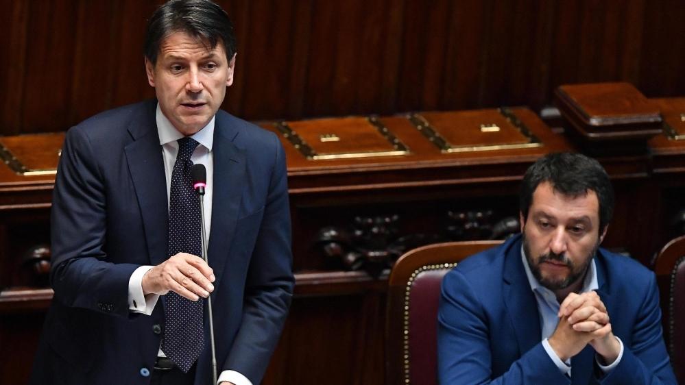 Italian PM Conte faces ouster as Salvini flexes political muscle