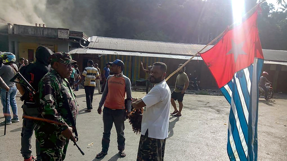 Indonesia blocks internet in West Papua as protest rages