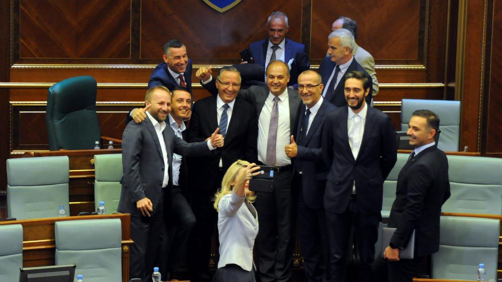 Crisis-hit Kosovo disbands parliament