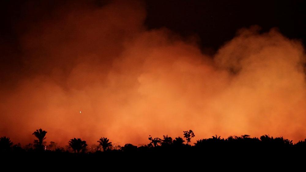 Brazil is burning