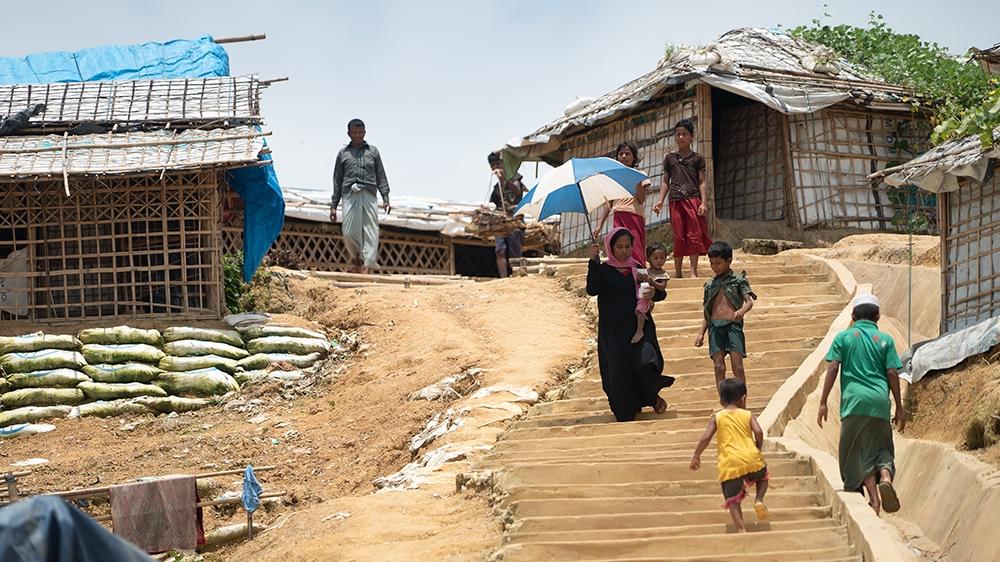 Rohingya refugees in Kutupalong-Balukhali refugee camp, Cox's Bazar, Bangladesh, August 9, 2018 [File:Sorin Furcoi/Al Jazeera]