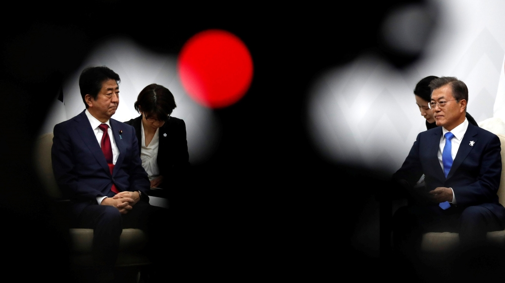 Japan PM Abe: S Korea move to end intelligence pact damages trust thumbnail