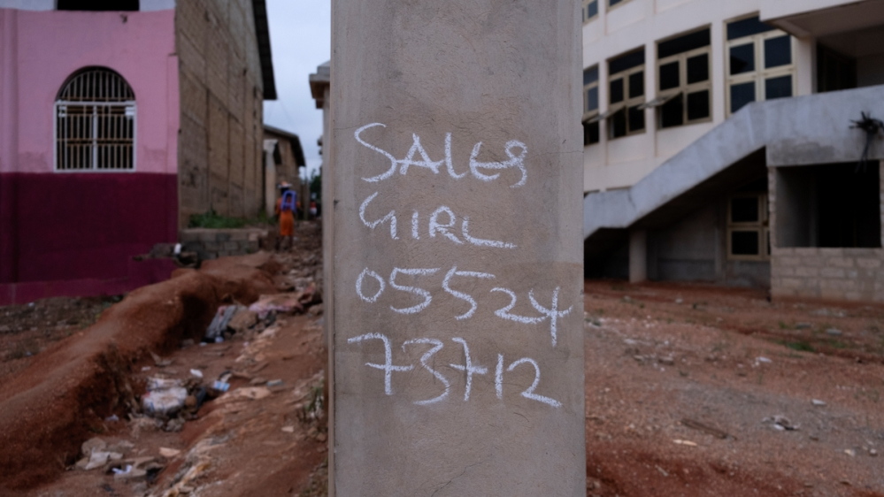 Nigerian prostitution in Ghana