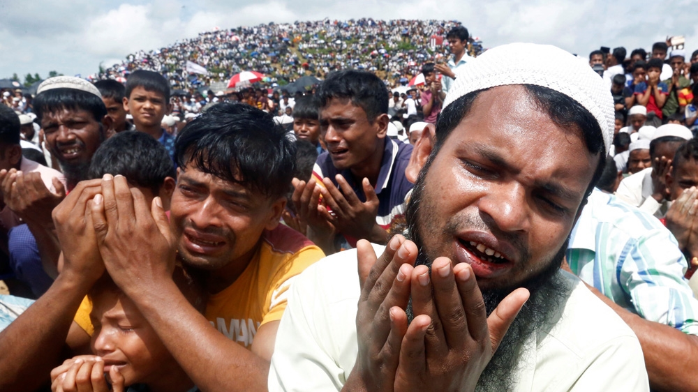 Genocide Day': Thousands of Rohingya rally in Bangladesh