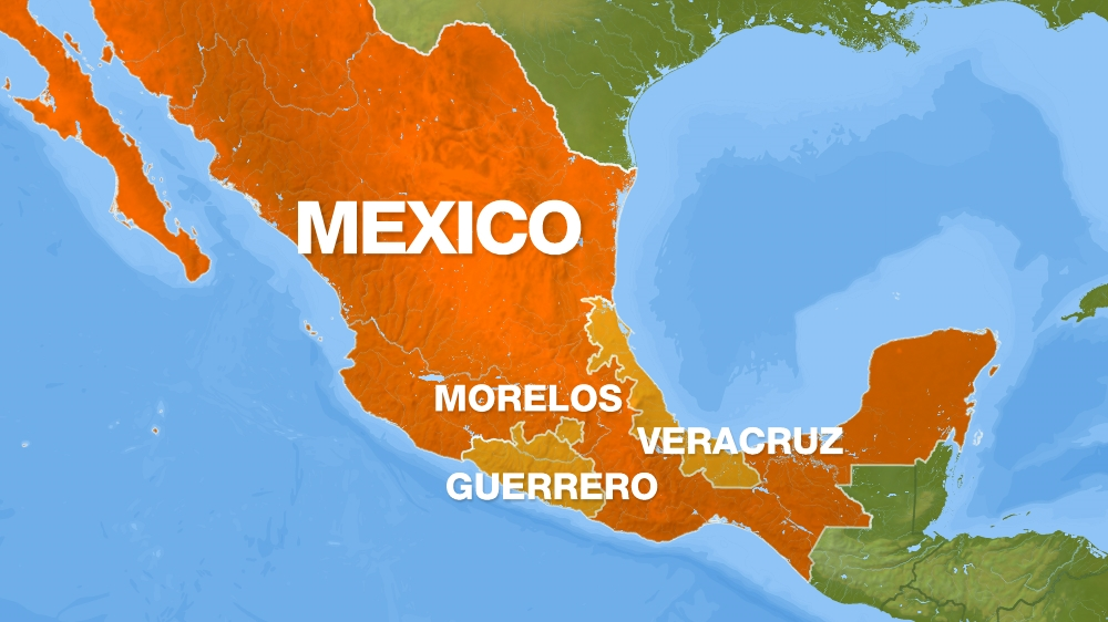 Mexico's map
