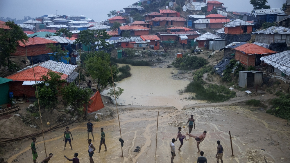 Rohingya Refugees Mark One Year Since The Crisis