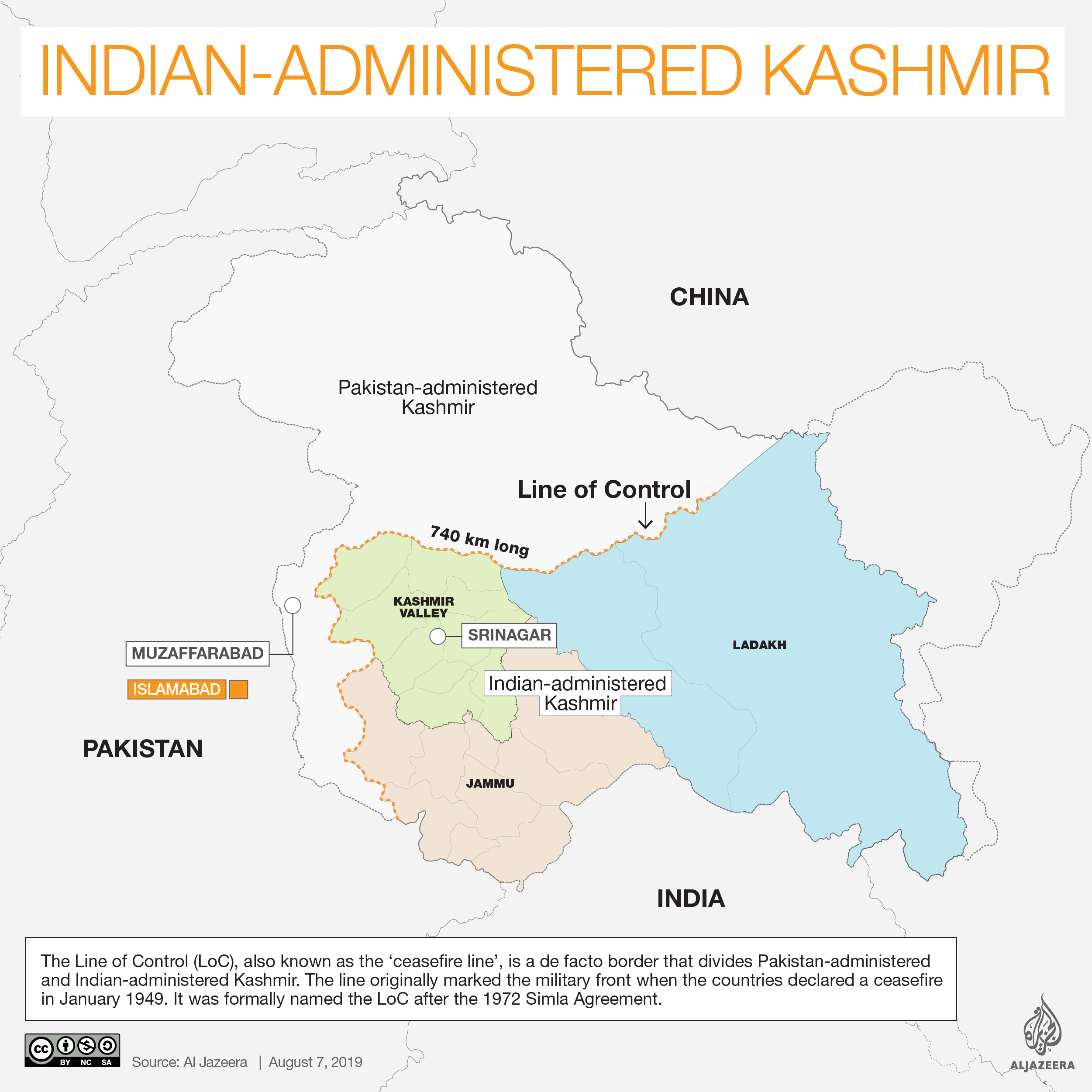 INTERACTIVE: Kashmir map without Siachen - Aug 7 2019