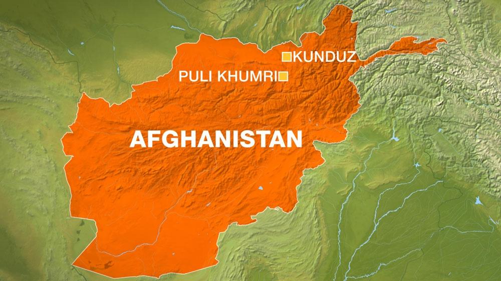 Kunduz-pulikhumri map