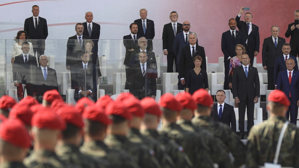 Germany asks for forgiveness as leaders mark 80 years since WWII