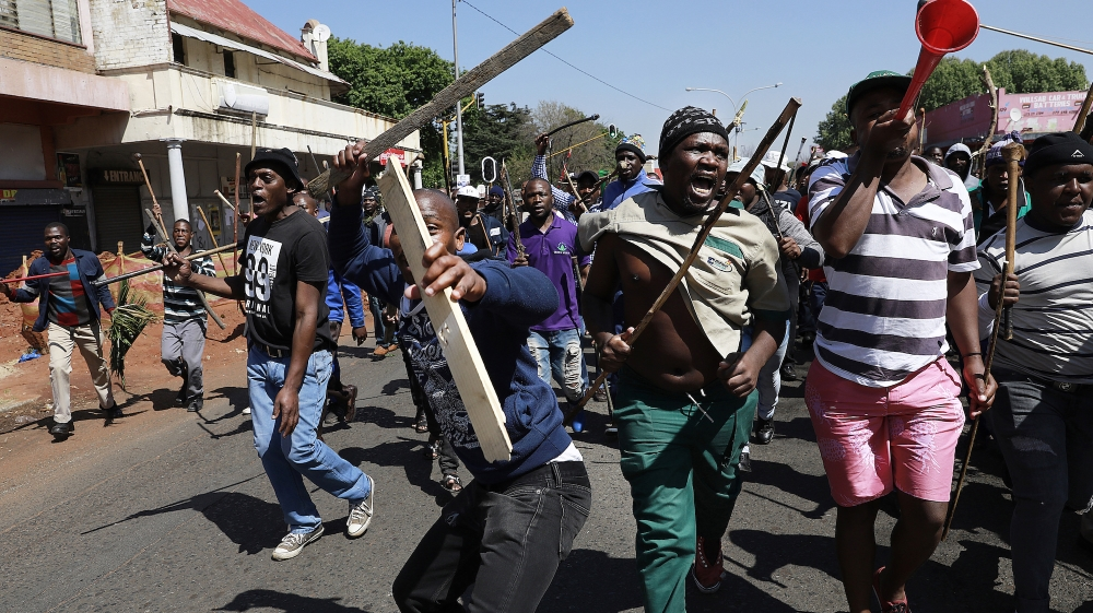 Failed decolonisation in South African cities leads to violence