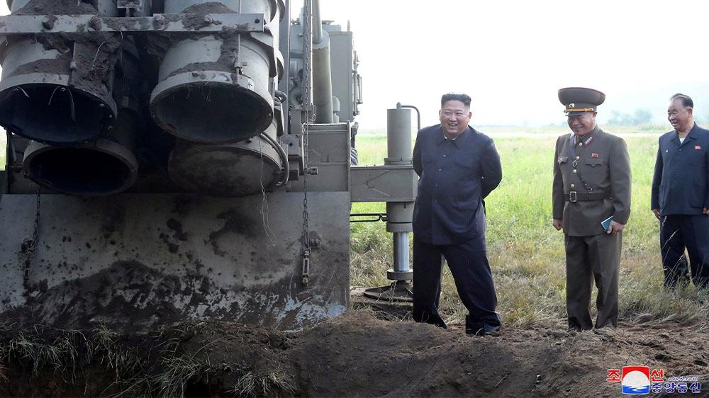 South Korea military spending spikes, has North Korea worried