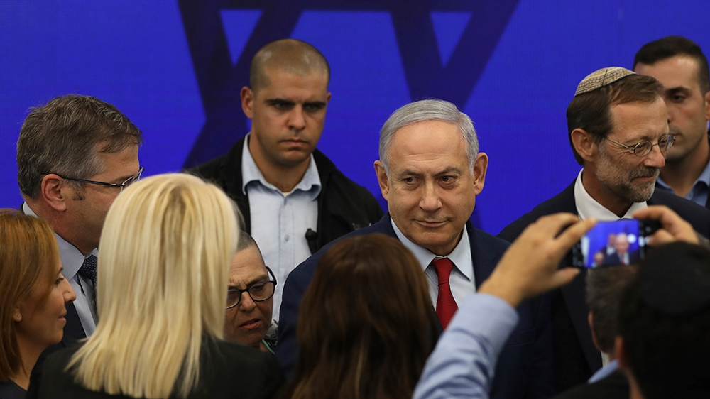 Netanyahu annexation pledge denounced as 'dangerous' and 'racist'