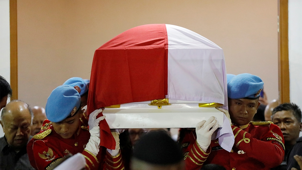 Indonesia Habibie death