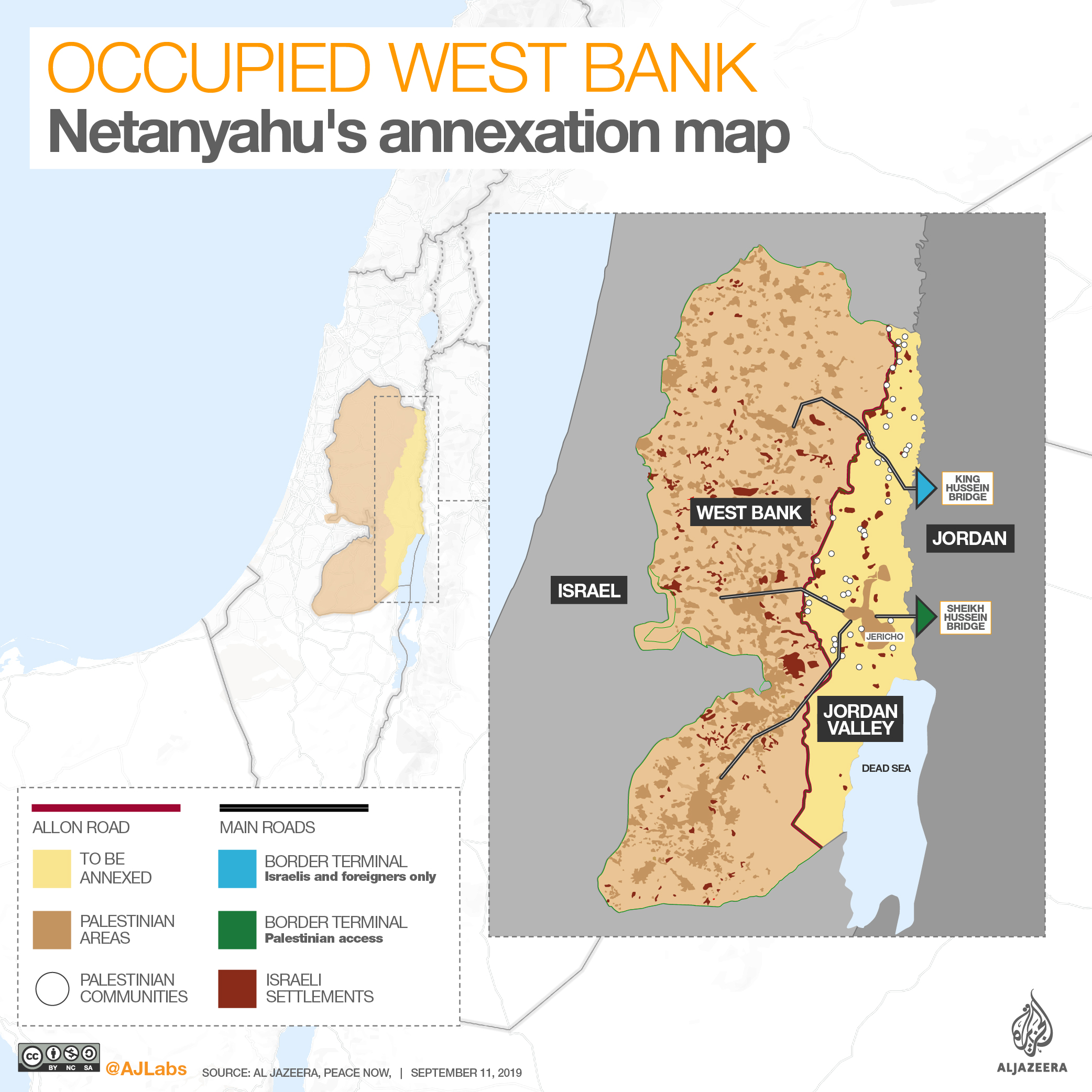 INTERACTIVE: Occupied West Bank - Jordan Valley Sept 12 2019