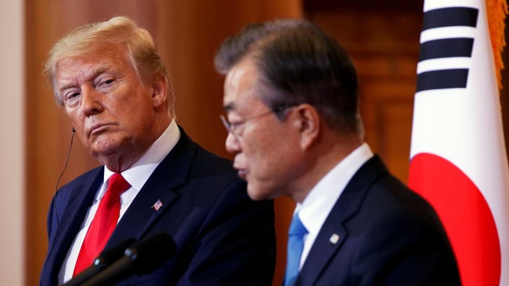 S Korea's Moon, Trump to meet amid hopes for fresh N Korea talks