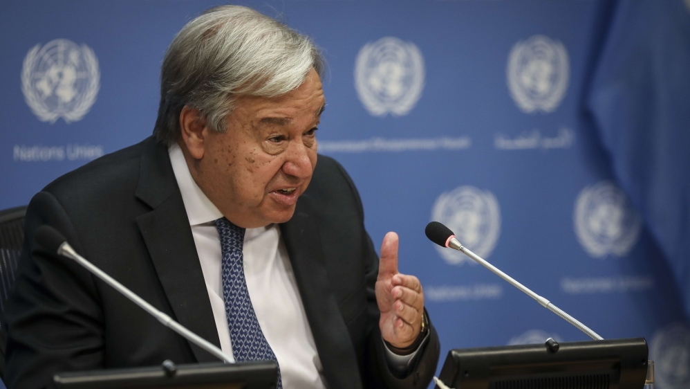 Guterres announces formation of Syria constitutional committee