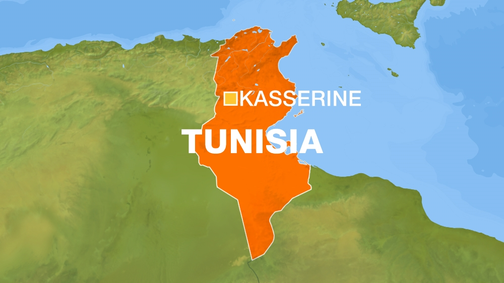 Tunisia security boss, three fighters killed in clash near border