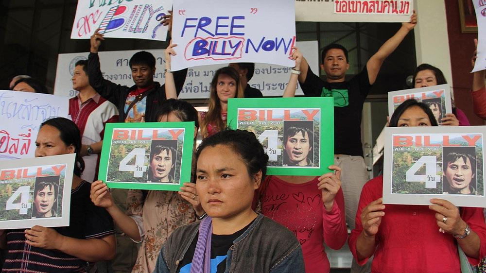 Thailand activists
