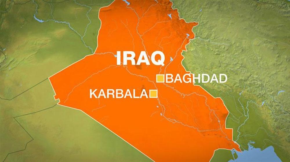 Karbala Baghdad map