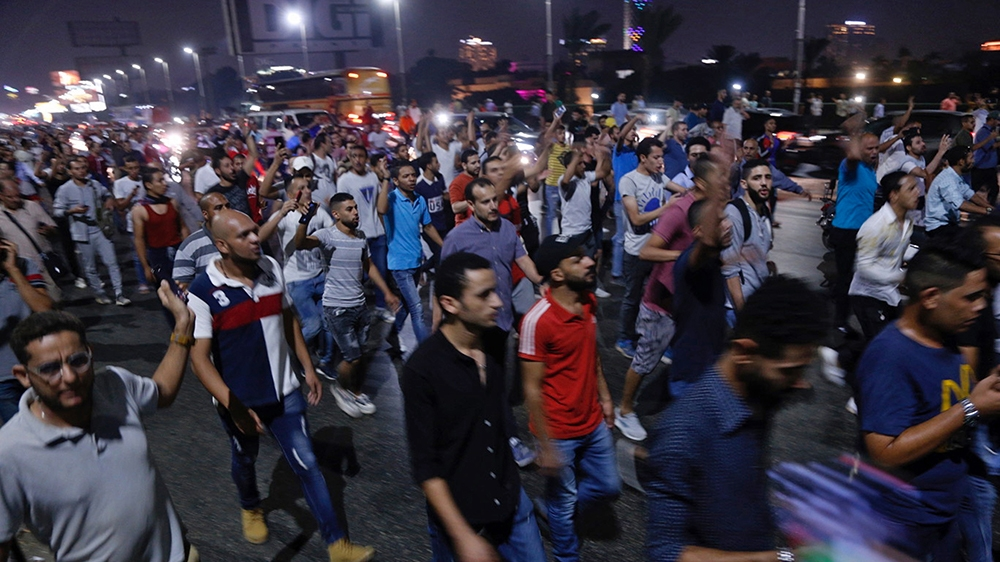 Clashes in Egypt's Suez on second day of protests against el-Sisi