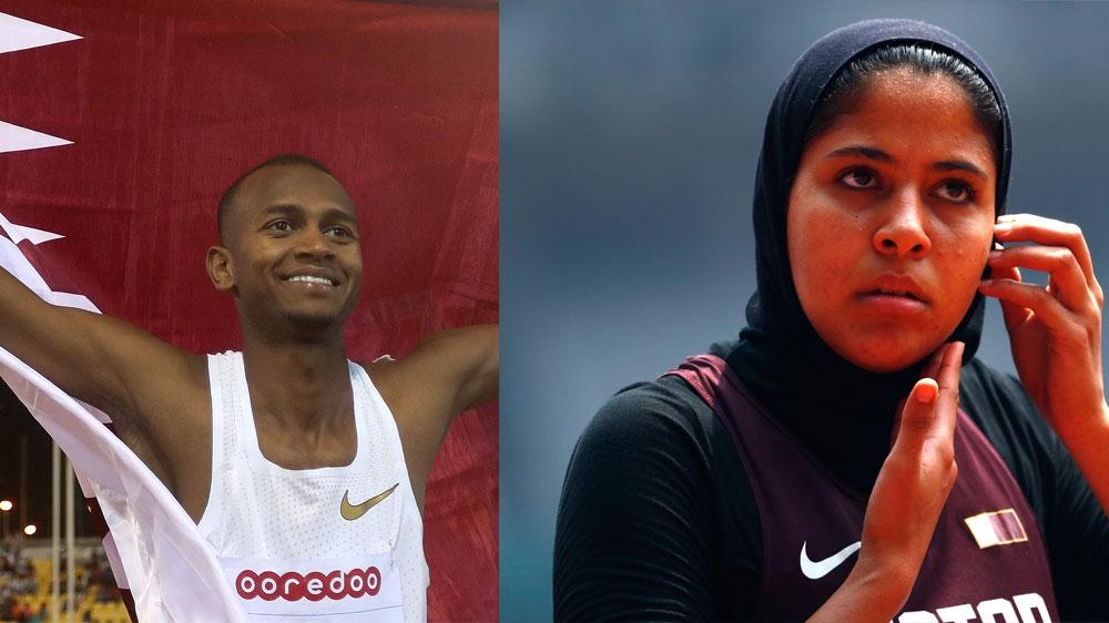 Qatari athletes