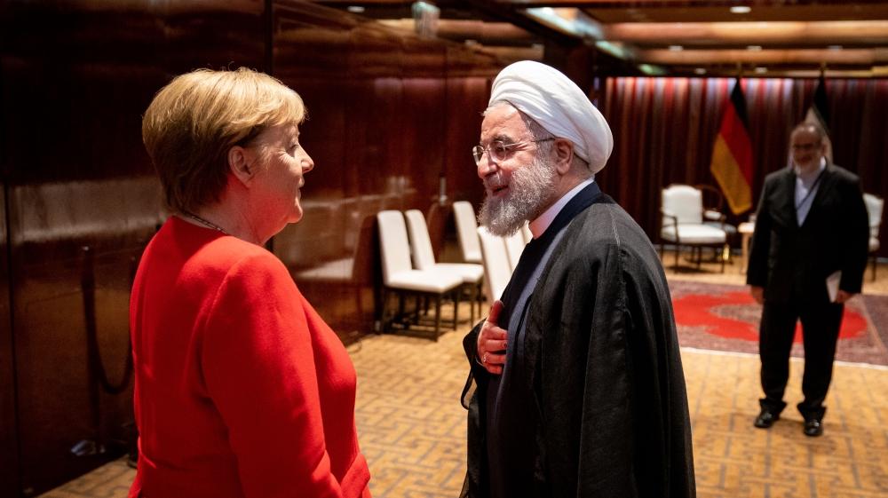 Rouhani - Merkel
